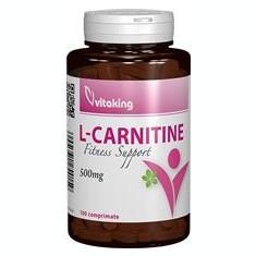 L-Carnitina 500mg Vitaking 100cpr Cod: vk970