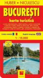 Bucureşti. Hartă turistică