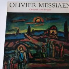 Messiaen - opere pt. orga
