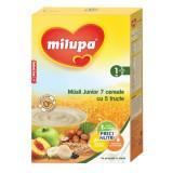 Cereale Fara Lapte, Milupa Musli Jr 7 Cereale Cu 5 Fructe, 250G, 12Luni+