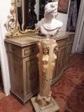 Piedestal baroc venetian,vintage, Consola