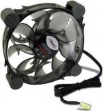 Ventilator Inter-Tech CobaNitrox R-120-G 120mm (LED Alb)