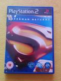 Joc de Playstation 2 - Superman Returns PS2 - complet, cu manual, poster, CD