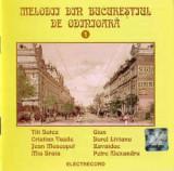 CD - Melodii Din Bucureștiul De Odinioară 1, original, electrecord