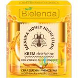 MANUKA HONEY NUTRI ELIXIR Crema de Fata Hranitoare si Hidratanta pentru Ten Uscat si Sensibil de Zi/Noapte 50ml