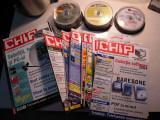 LOT de 24 reviste ( 11 XTREMPC si 13 CHIP) + 62 CD-uri origilale XTREMPC si CHIP