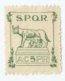 România, lot 91, timbru fiscal local Sibiu, Asoc. Culturală Poporul Român, MNH, Nestampilat