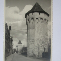 Carte postala foto Cenzurat Sibiu 1941-Strada Harteneck