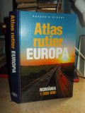 ATLAS RUTIER EUROPA ( ROMANIA ) , READER'S DIGEST , 2009