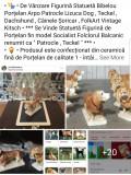 """Statuetă Figurină Bibelou Porțelan Arpo """" Patrocle Lizuca Dog Teckel Dachshund """""""
