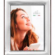 Rama foto placata cu argint 10 X 15 CLASSICO by Chinelli made in Italy