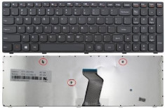 Tastatura Laptop Lenovo IdeaPad G500 Neagra US foto