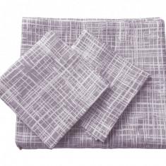 Set de cuverturi pentru canapea si fotolii , Fust 171 Lila