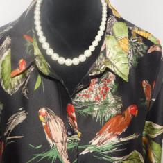 Zara -  bluza noua marimea XL, Maneca lunga, Casual