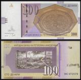 !!! MACEDONIA - 100 DINARI 2018 - P 16 l - UNC