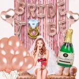 Set baloane si accesorii pentru petreceri BRIDE TO BE, Oem
