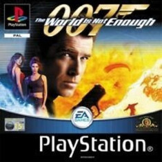 Joc PS1 The world is not enough 007