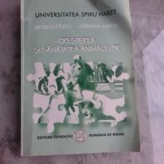 CRESTEREA SI SANATATEA ANIMALELOR - MONICA PARVU