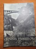 revista padurilor octombrie 1958- invatamantul silvic,cabana de vantoare