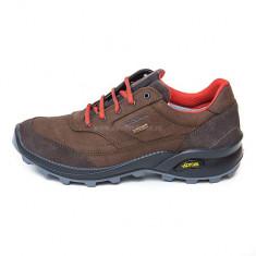 Pantofi Bărbați Trekking Piele impermeabili Grisport Skat Gritex Vibram