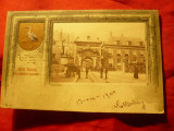 Ilustrata Haga 1901 Poarta grenadierilor Olanda , circulat