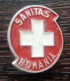 INSIGNA ROMANIA, SANITARA, SANITAS ROMANIA, DIN ALUMINIU