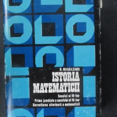 Istoria matematicii vol.2