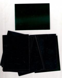 POSETE PENTRU BLOCURI SI COLITE, HAWID (GERMANIA), DIMENSIUNI  120 X 120 MM