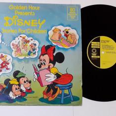 Golden Hour - Disney - Stories For Children - Disc vinil vinyl LP 1976 - Povesti