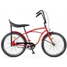 Bicicleta Pegas Strada 1 OTEL 2S, Cadru 17inch, Roti 26inch, 2 Viteze (Rosu)