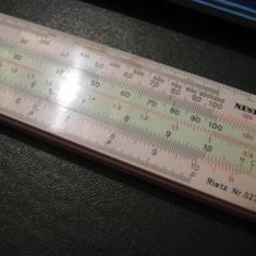 Rigla de calcul Nestler Rietz Nr. 0238 Rechenschieber