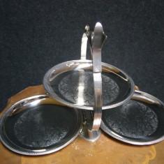 Fructiera,centru de masa pliabil din inox