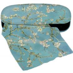 Etui cu textil si protectie ochelari van Gogh Ramuri inflorite