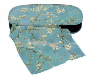 Etui cu textil si protectie ochelari, van Gogh Ramuri inflorite