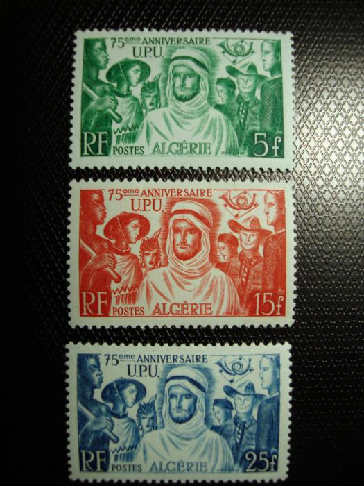 ALGERIA 1949 SERIE UPU MH