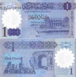 Libia 1 Dinar 2019 Polimer UNC