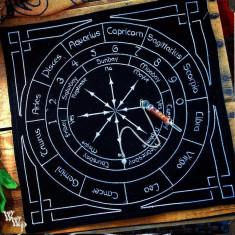 pendul magic-set carte -plansa -astrologie +un cadou frumos!!!
