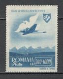 Romania.1945 OSP-Posta aeriana  HR.21, Nestampilat