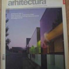 REVISTA ARHITECTURA IULIE-AUGUST 2006 - COLECTIV