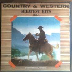 Vinil (vinyl) - Country & Western - Greatest Hits III (voce: Alexandru Andries)