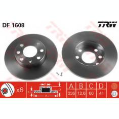 Disc frana OPEL ASTRA F Hatchback (53, 54, 58, 59) (1991 - 1998) TRW DF1608