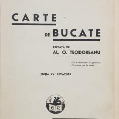 CARTE DE BUCATE de SANDA MARIN , EDITIA A XV-A, REVAZUTA