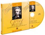 Mari compozitori. Edvard Grieg. Carte + CD audio