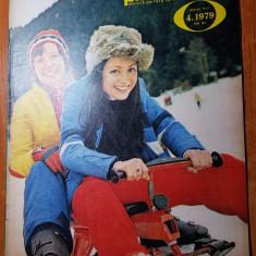 Romania pitoreasca aprilie 1979-art. si foto bistra jud. alba,jud ialomita