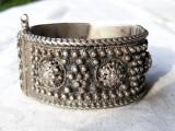 BRATARA argint TRIBALA foarte VECHE vintage MASIVA manopera EXCEPTIONALA unicat