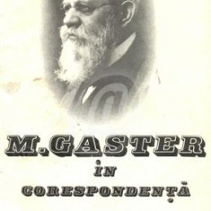 M. Gaster in corespondenta - documente literare