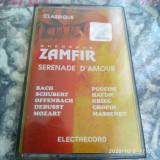 CASETA AUDIO -  GHEORGHE ZAMFIR - Serenade D'Amour