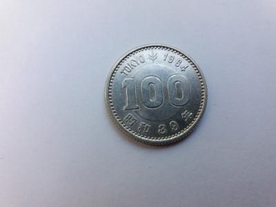 Japonia 100 yen-Argint foto