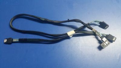 Set cabluri SAS DELL Poweredge T610 T710 H200 H700 DP/N N168M R144M foto