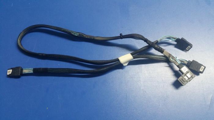 Set cabluri SAS DELL Poweredge T610 T710 H200 H700 DP/N N168M R144M